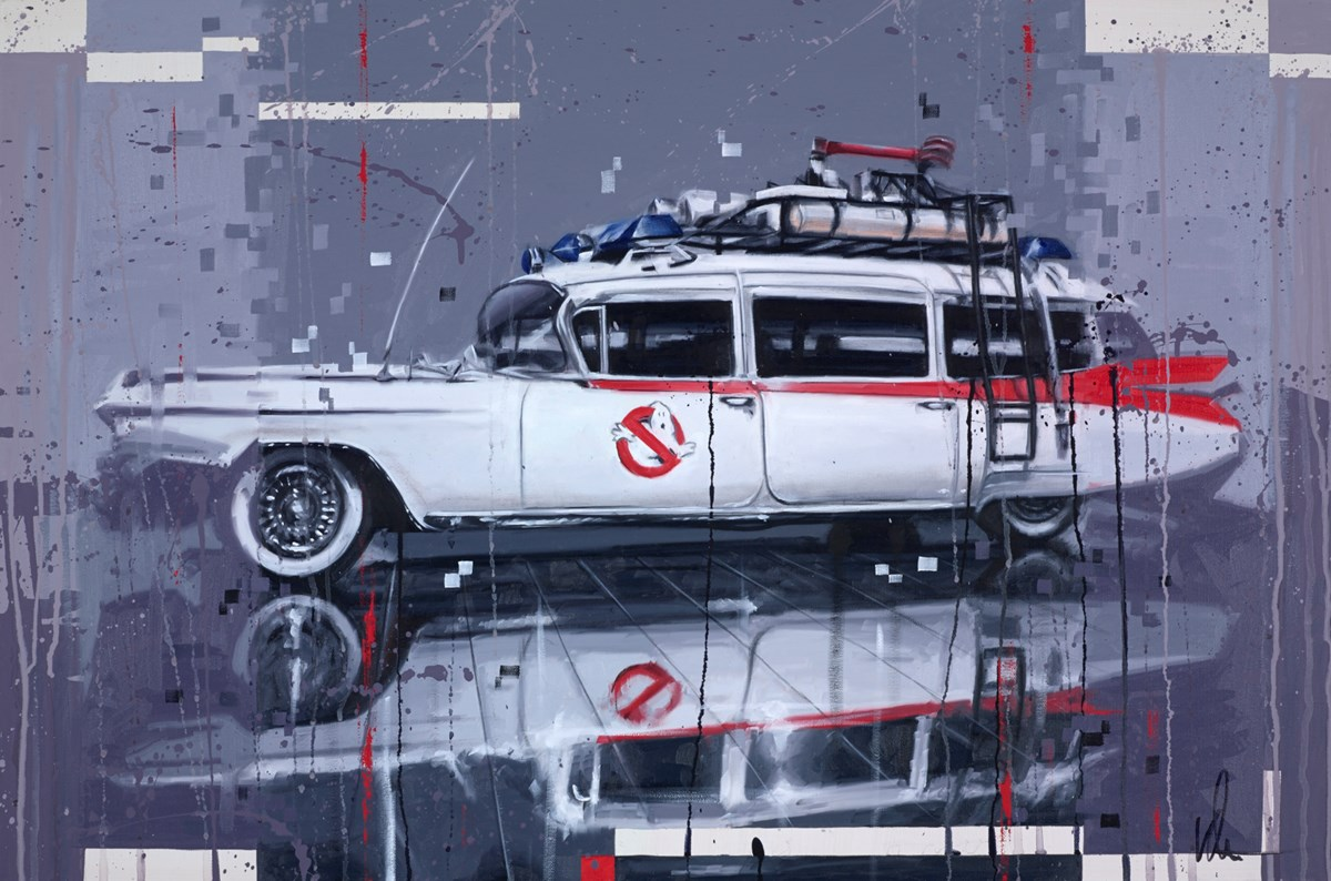Ecto 1 by kris hardy -  sized 36x24 inches. Available from Whitewall Galleries